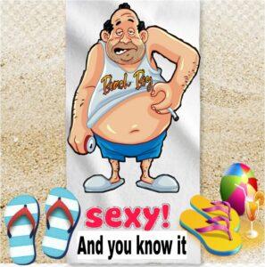 fat beachboy